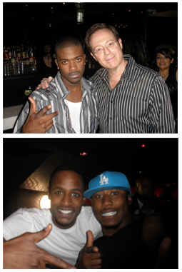 Ray J Ami Shafrir Jackie Long Brandon Marshall